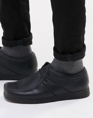 Base London Кожаные туфли XXVI Legacy. Цвет: черный