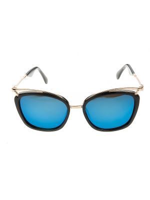 Солнцезащитные очки, iq format. Цвет: черный