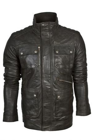 Куртка Barneys originals. Цвет: серый