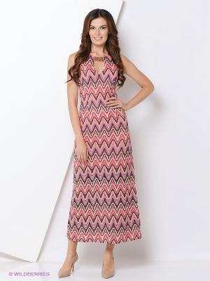 Платье Ana Alcazar. Цвет: коралловый