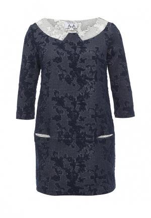 Платье A-A by Ksenia Avakyan. Цвет: синий