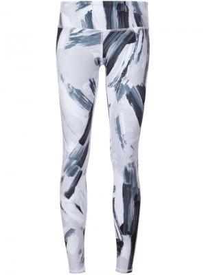 Airbrush leggings Alo. Цвет: чёрный