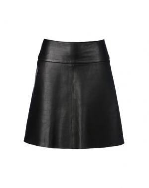 Юбка до колена 8. Цвет: черный