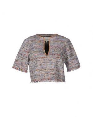 Блузка NANUSHKA. Цвет: оранжевый