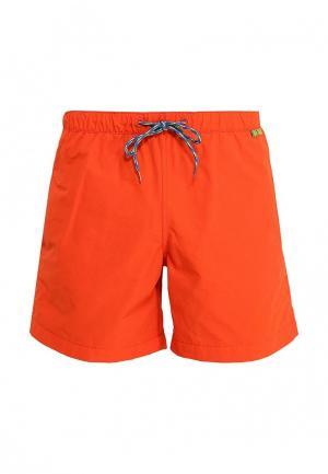 Шорты для плавания Tom Tailor. Цвет: оранжевый