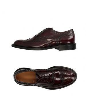 Обувь на шнурках SUTOR MANTELLASSI. Цвет: красно-коричневый