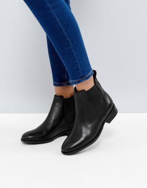 Office Кожаные ботинки челси Bramble. Цвет: черный