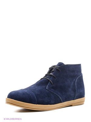 Ботинки Dival&Dino. Цвет: синий