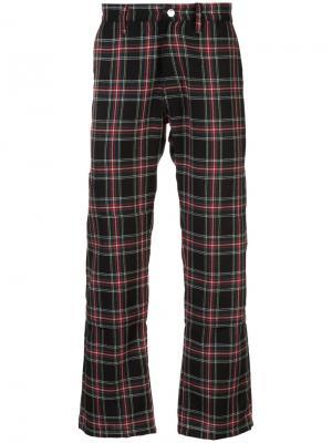 Checked trousers Enfants Riches Déprimés. Цвет: красный