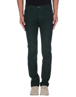 Повседневные брюки PAOLONI. Цвет: темно-зеленый