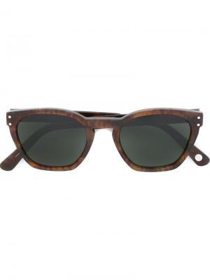 Солнцезащитные очки Red cloud Ahlem. Цвет: коричневый
