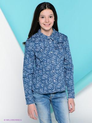 Рубашка PEPE JEANS LONDON. Цвет: темно-синий