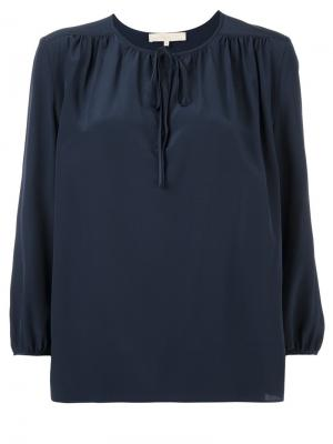 Крестьянская блузка Vanessa Bruno. Цвет: синий