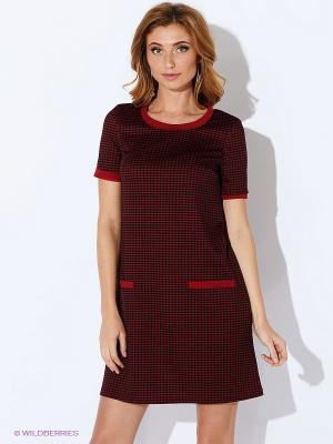 Платье La Via Estelar. Цвет: бордовый