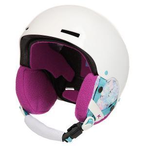 Шлем для сноуборда детский  Rime Frozen Anon. Цвет: белый