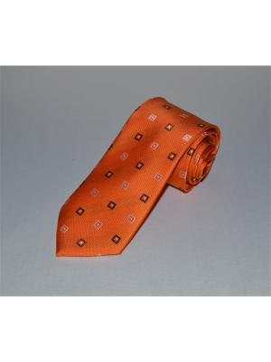 Галстук Sergio Bellini. Цвет: оранжевый