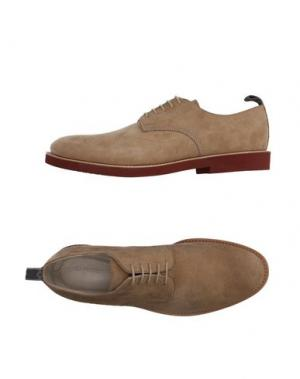 Обувь на шнурках SARTORI GOLD. Цвет: бежевый