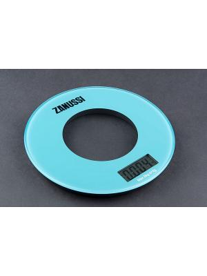 Кухонные весы Bologna, голубой Zanussi. Цвет: голубой