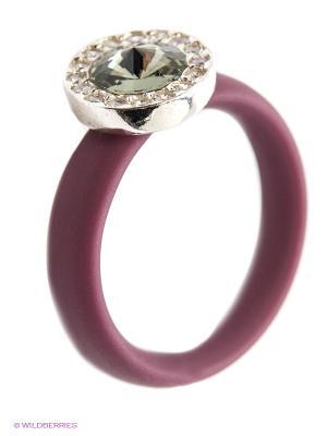 Кольцо NAVELL. Цвет: серый, сиреневый