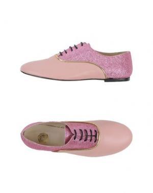 Обувь на шнурках LISA C BIJOUX. Цвет: розовый