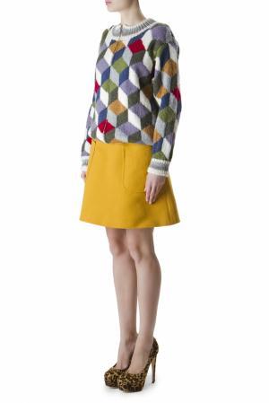 Разноцветный свитер на молнии Duro Olowu. Цвет: multicolor