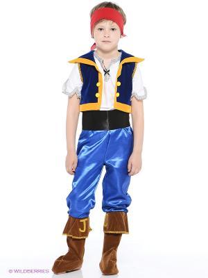 Карнавальный костюм  Джейк Дисней Батик. Цвет: синий