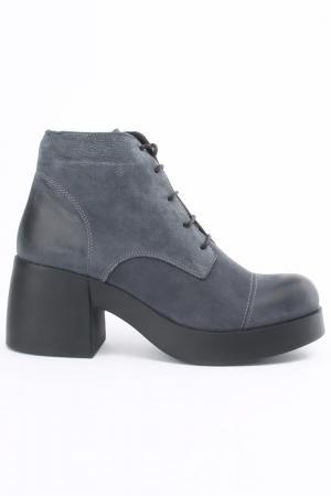 Ботинки Sandm. Цвет: серый
