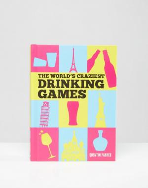 Books Книга Worlds Craziest Drinking Games. Цвет: мульти