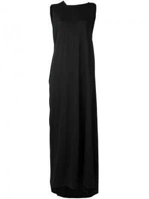 Платье асимметричного кроя Lost & Found Ria Dunn. Цвет: чёрный