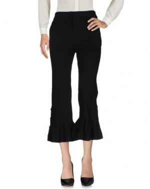 Повседневные брюки LUCKY CHOUETTE. Цвет: черный