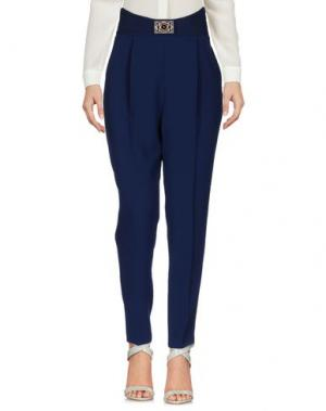 Повседневные брюки ELISABETTA FRANCHI. Цвет: синий
