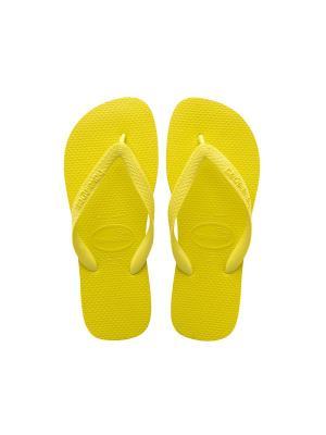 Шлепанцы HAVAIANAS  TOP. Цвет: желтый