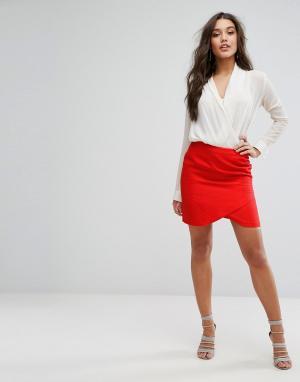 Supertrash Мини-юбка Selena. Цвет: красный