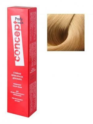 Concept 65358 Стойкая Крем-краска для волос PROFY Touch 12.8 Светло-перламутровый 60 мл (п). Цвет: серебристый