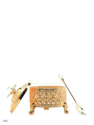 Сахарница Vittorio Richi. Цвет: золотистый
