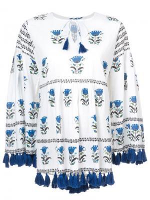 Tina blouse Rhode Resort. Цвет: белый