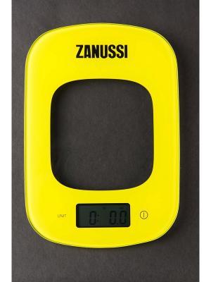 Кухонные весы Venezia Zanussi. Цвет: желтый