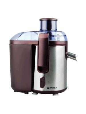 Соковыжималка электрическая Vitek VT-3655(BN). Цвет: коричневый