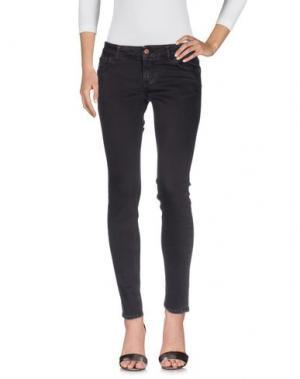 Джинсовые брюки DERRIÉRE. Цвет: темно-фиолетовый