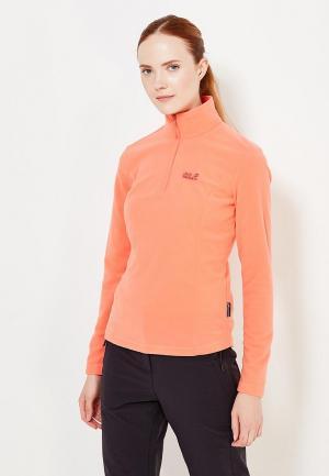 Олимпийка Jack Wolfskin. Цвет: оранжевый