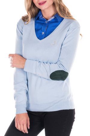 Пуловер Sir Raymond Tailor. Цвет: голубой