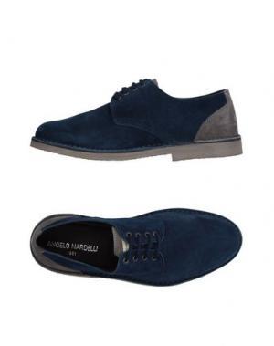 Обувь на шнурках ANGELO NARDELLI. Цвет: синий