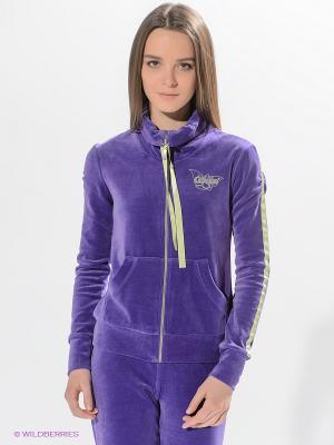 Кофта Grishko. Цвет: фиолетовый, салатовый