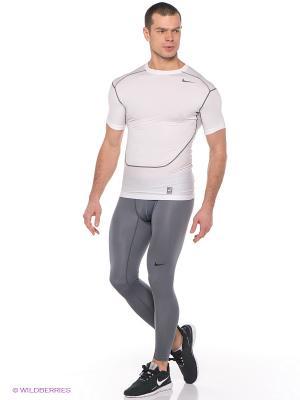 Брюки HYPERWARM LITE COMP TIGHT Nike. Цвет: серый