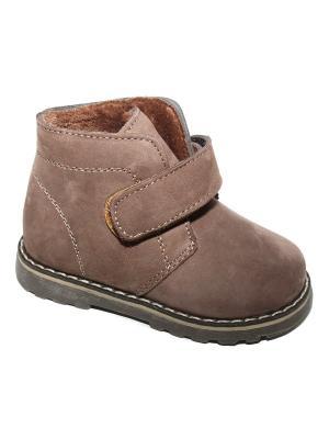 Ботинки Капитошка.. Цвет: коричневый