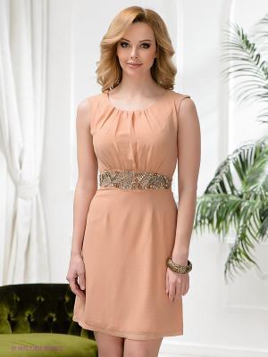 Платье Acasta. Цвет: кремовый
