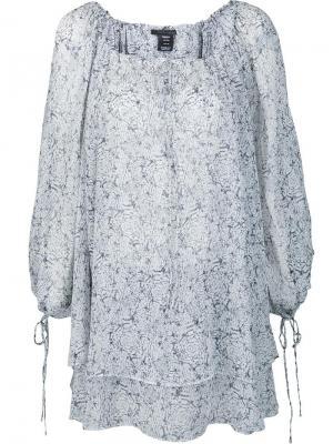 Блузка Sigit Thomas Wylde. Цвет: белый