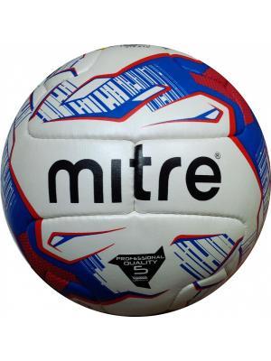 Мяч футбольный MITRE DELTA Россия FIFA Approved. Цвет: белый, черный, синий, красный