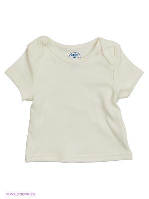 Набор: футболка с коротким рукавом, 2 шт. Modis. Цвет: кремовый