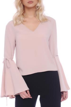 Блуза Emma Monti. Цвет: бежевый